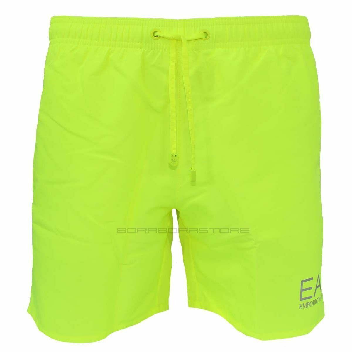 Emporio Armani EA7 Herren Badeshorts Badehose 902000  cc721 fluo yellow