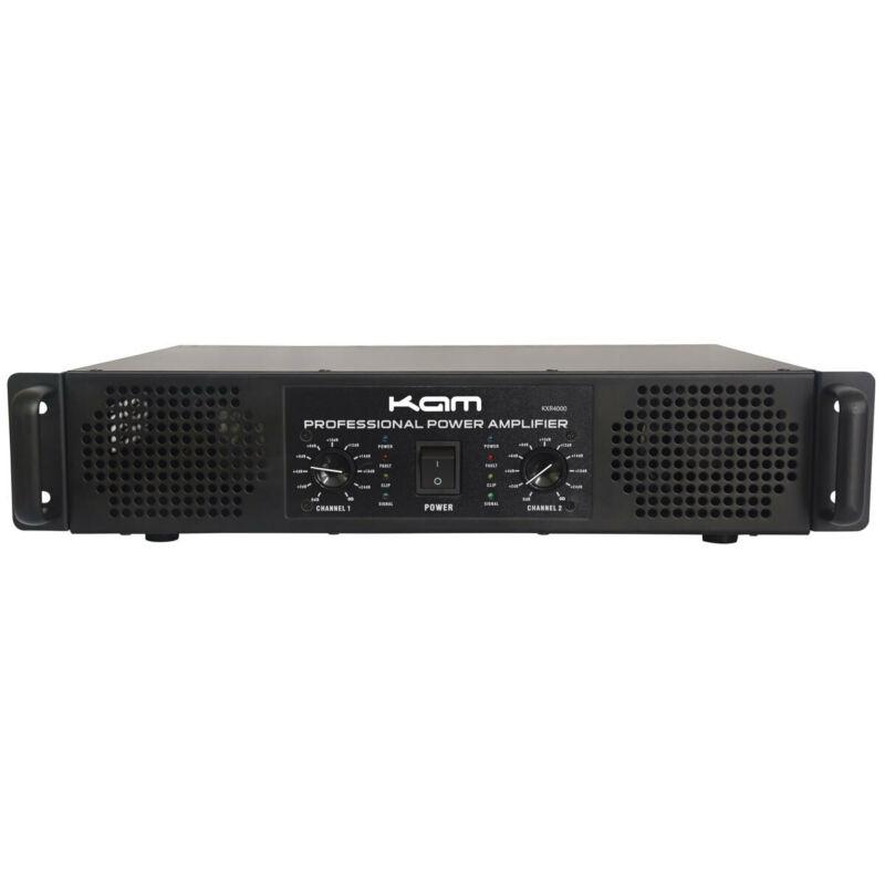 KAM KXR4000 Professional Power Amplifier, 400W