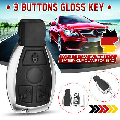Auto Funk Schlüssel Gehäuse 3 Tasten Schutzhülle Für Benz Mercedes CLK CLS SLK
