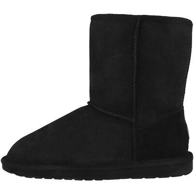 EMU Australia Stinger Lo Women Damen Schuhe Boots Stiefel black W10002-E003