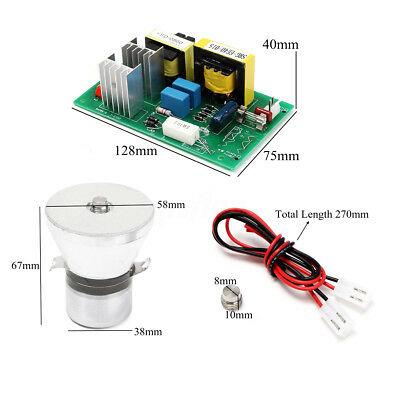 100w 28khz Ultrasonic Cleaning Transducer Cleaner Power Driver Board 220vac