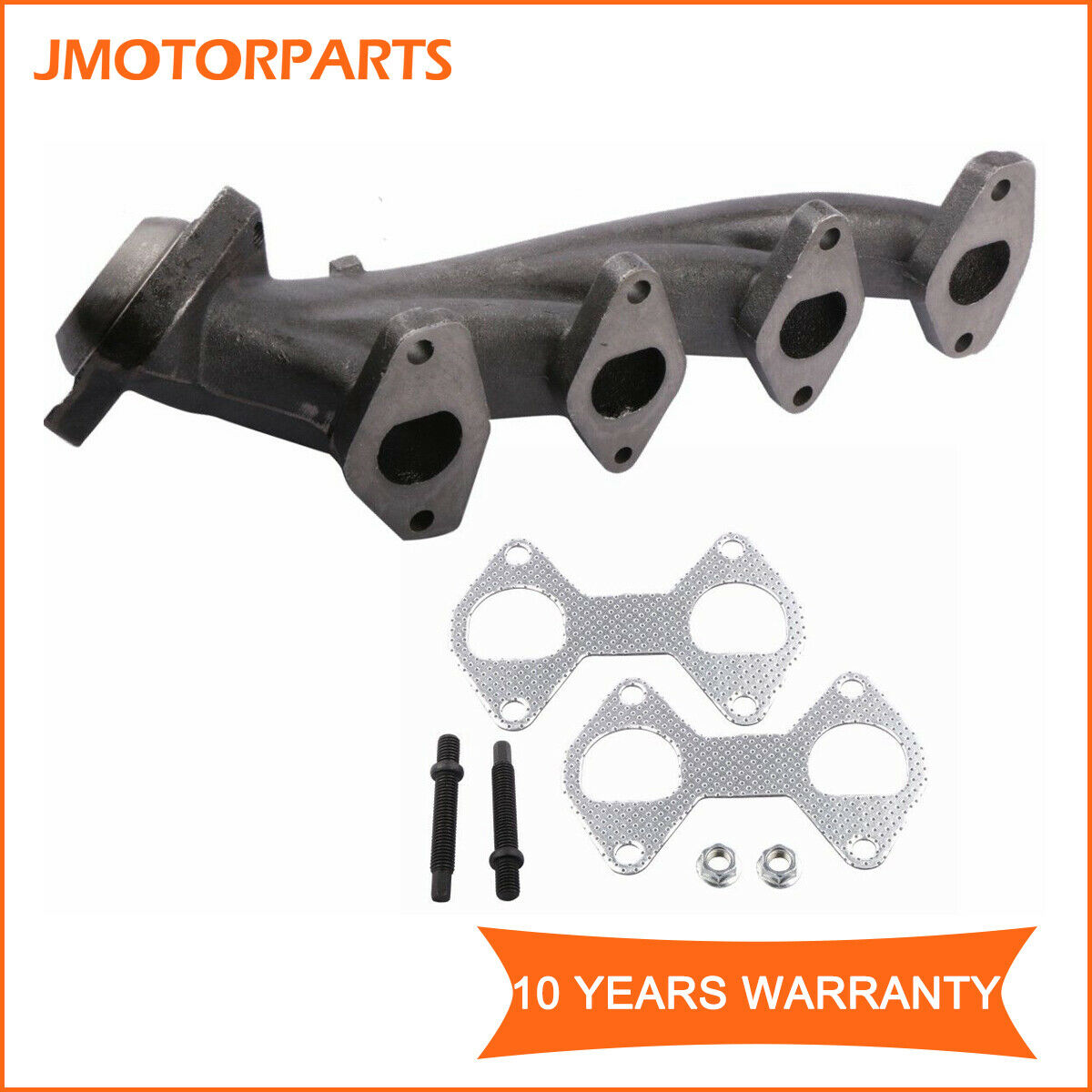 Passenger Side Exhaust Manifold & Gasket For Ford F150 F250 F350 Expedition 5.4L