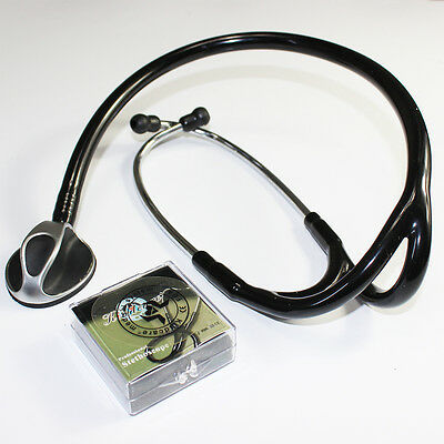 Stethoscope Nurse Medical Single Dual Head Cardiology Stethoscope Auscultate