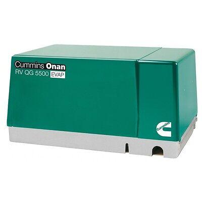 Brand New Cummins Onan 5.5 Hgj-ab6755 Rv Qg 5500 Evap Gasoline Generator Set