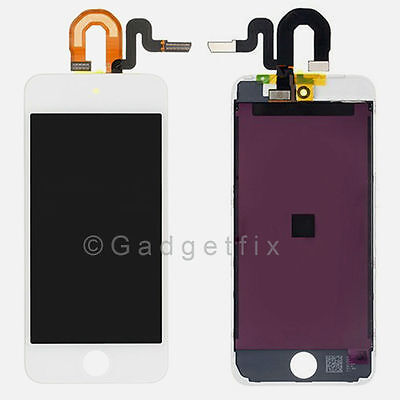 USA White LCD Screen Display + Touch Screen Digitizer for ipod touch 5 5th Gen