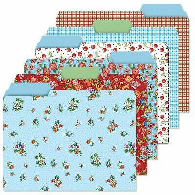 Mary Engelbreit Decorative File Folders 6 Styles - 24 Folders