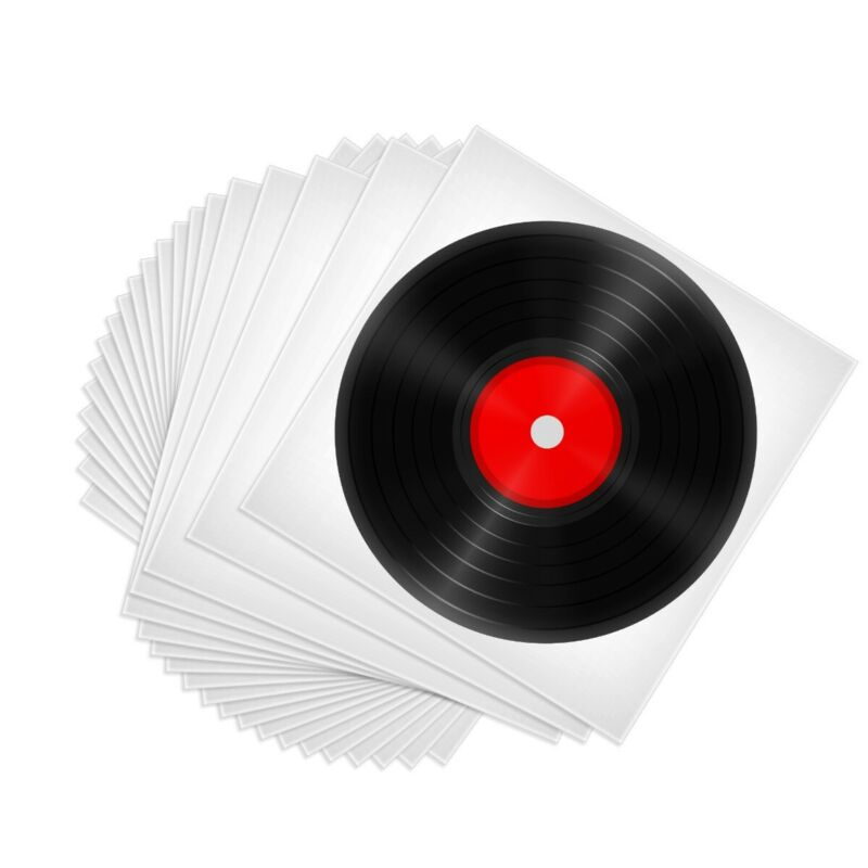 """100 Clear Plastic LP Outer Sleeve 3MIL Vinyl Record Album Covers 12.75"""" x 12.75"""""""