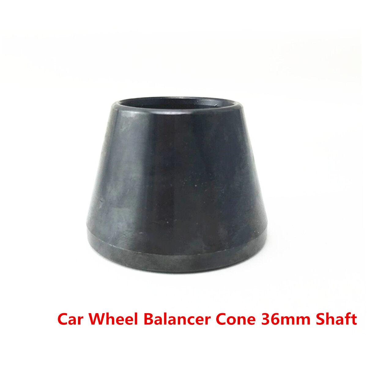 "1PC 36mm 3.5"" to 5.5"" Universal #45 Carbon Steel Car Wheel Balancer Cone Shaft"
