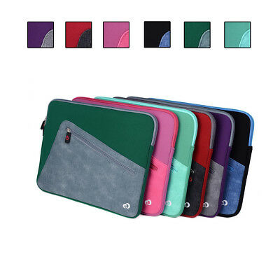 Neoprene Sleeve Cover Case with Front Pocket fit Dell Inspiron 13 7000