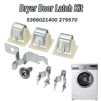 Dryer Door Latch Catch Kit For Whirlpool Sears 5366021400 279570 YWED9150WW0