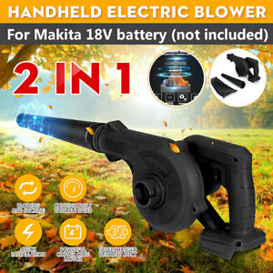 ❤ 2 in 1 Cordless Speed Leaf Blower Vacuum Duster For Makita 18V Li-ion Battery