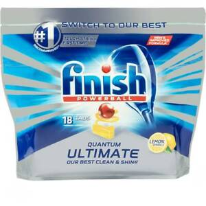Finish Dishwasher Tablets 2 Packets 40 Tablets