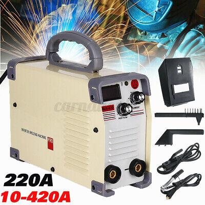 Ac220v Mini Electric Amp Welding Machine Set Mma Igbt Inverter Welder Arc Force
