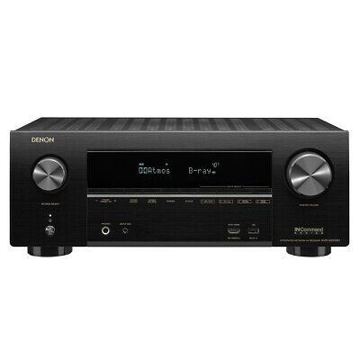 Denon AV Receivers Audio & Video Component Receiver Black