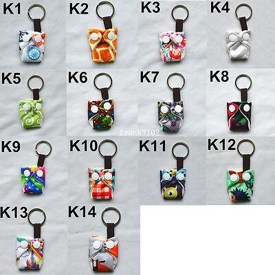 U PICK Mini Tiny Cloth Diaper Nappy Keychain Baby Shower Gif