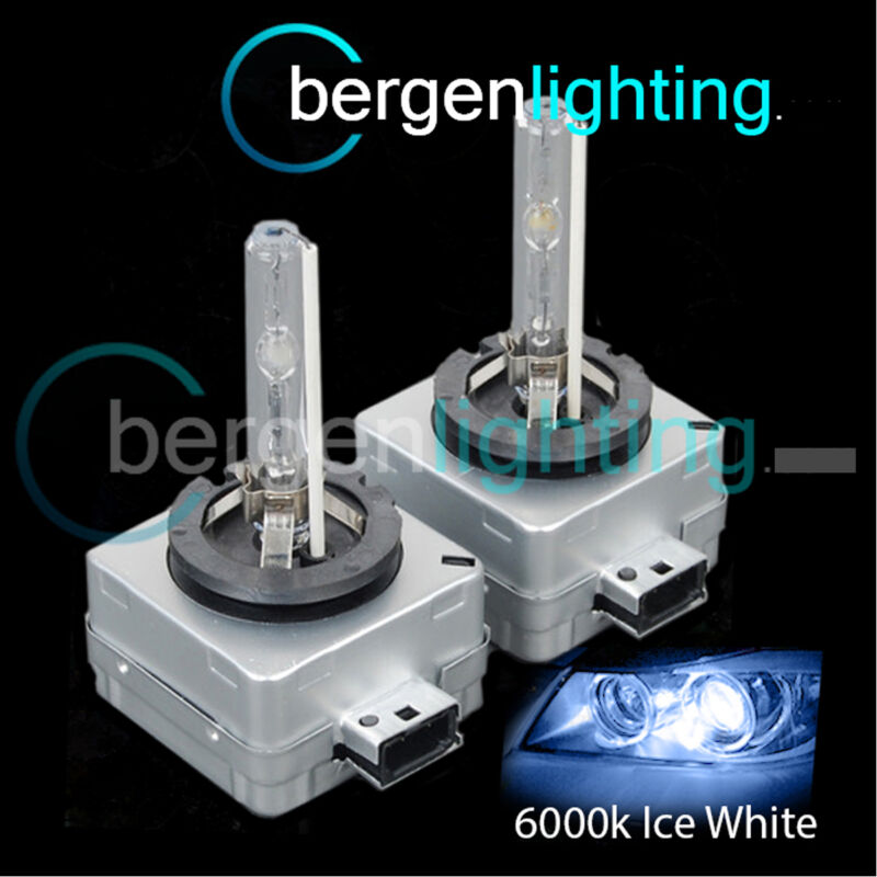 D3S ICE WHITE XENON HID LIGHT BULBS HEADLIGHT HEADLAMP 6000K 35W FACTORY FIT 2