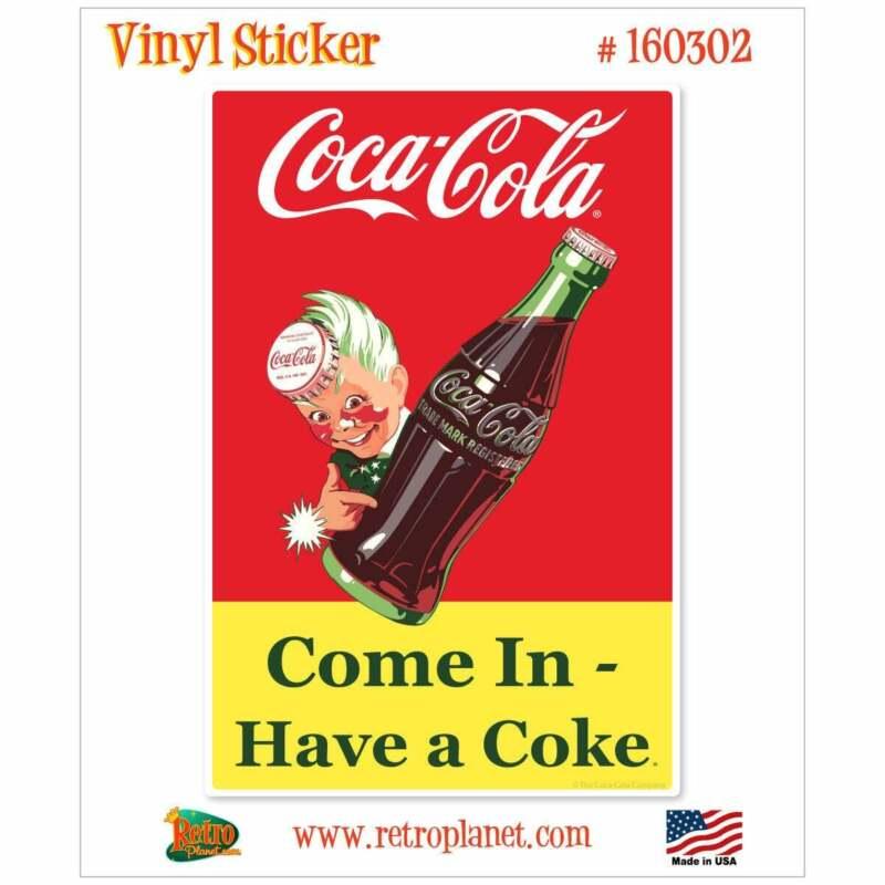 Coca-Cola Come In Sprite Boy Vinyl Sticker