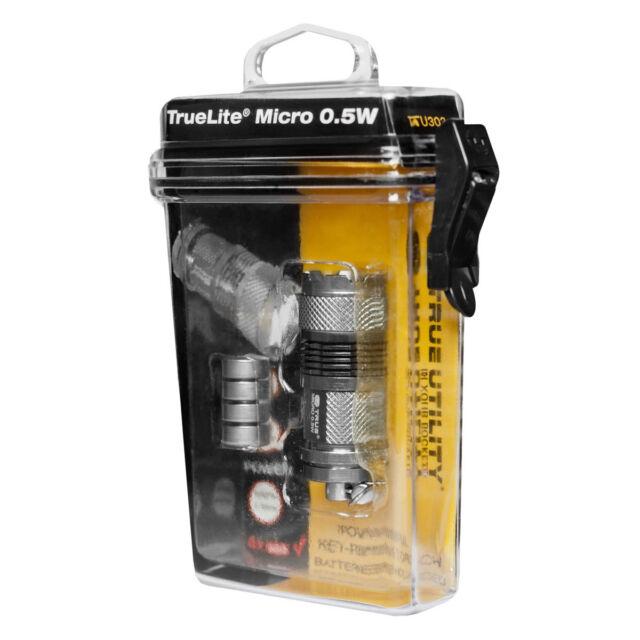 True Utility TU303 TrueLite Micro LED Handheld Pocket Torch Flashlight Keyring