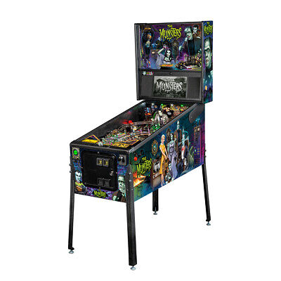 Stern Munsters Color Premium Pinball Machine