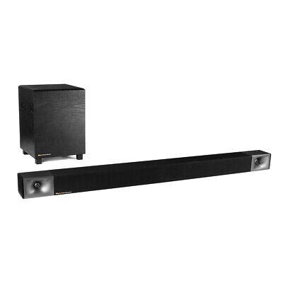 Klipsch Cinema 400 2.1 BT Soundbar w/ Wireless Subwoofer (Certified Refurbished)