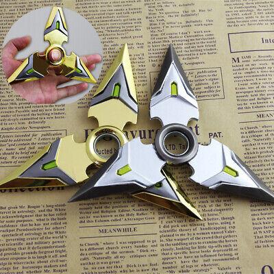 Genji Tri Hand Focus Fidget Metal Bearing Rotate EDC Adult Kids Toy Spinner  S