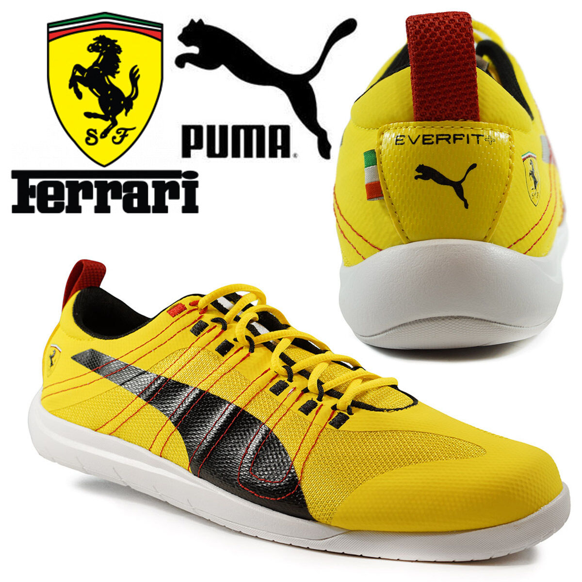 76f32396323 coupon code for puma ferrari tech everfit 10 mens trainers motorsports f1  scuderia yellow shoes 454b4