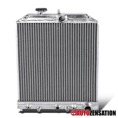 For 1992-2000 Honda Civic Del Sol Automatic Transmission Aluminum Radiator 1993 Honda Civic Del Sol