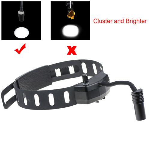 Dental 5W High Brightness LED Headlight Lamp DY-005 ENT Medical Headlamp Black
