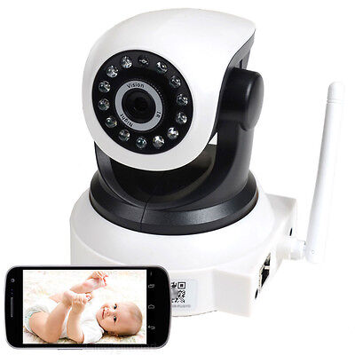 Baby Monitor Wireless IP Wifi Security Camera Smartphone Audio Night Vision AF2