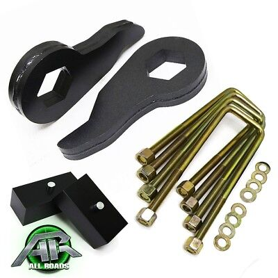 """1988-1999 Chevy GMC K1500 4WD 4X4 Full Leveling Lift Kit 1-3"""" Front + 3"""" Rear"""