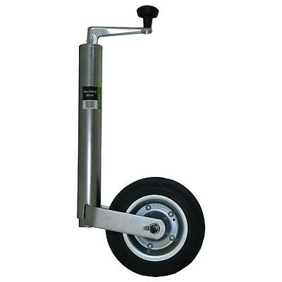 48MM JOCKEY WHEEL TELESCOPIC HEIGHT ADJUSTABLE WIND UP STAND CAMPING OUTDOOR NEW