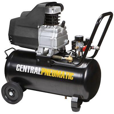 8 Gal. 2 Hp 125 Psi Oil Lube Air Compressor - Central Pneumatic - Item68740