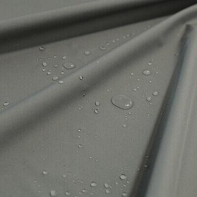 Ripstop Outdoor-Stoff wasserdicht atmungsaktiv Regen- Jackenstoff Meterware Grau