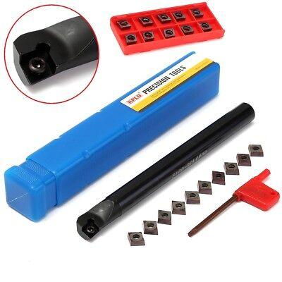 16mm S16q-sclcr09 Boring Bar Turning Tool Lathe Holder 10pcs Ccmt09t3 Inserts