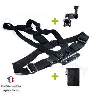 Imbracatura-di-PETTO-Accessori-Adattatore-per-GOPRO-HERO-3-3-4-Fotocamera