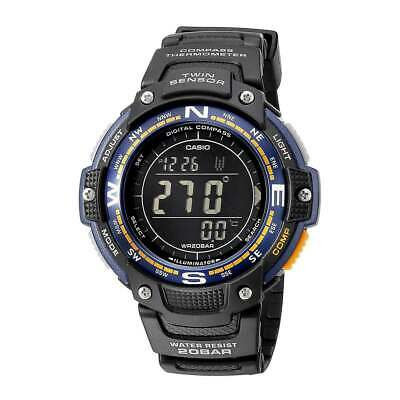Casio SGW100-2B Men's Outgear Black Digital Dial Alarm Dive Watch