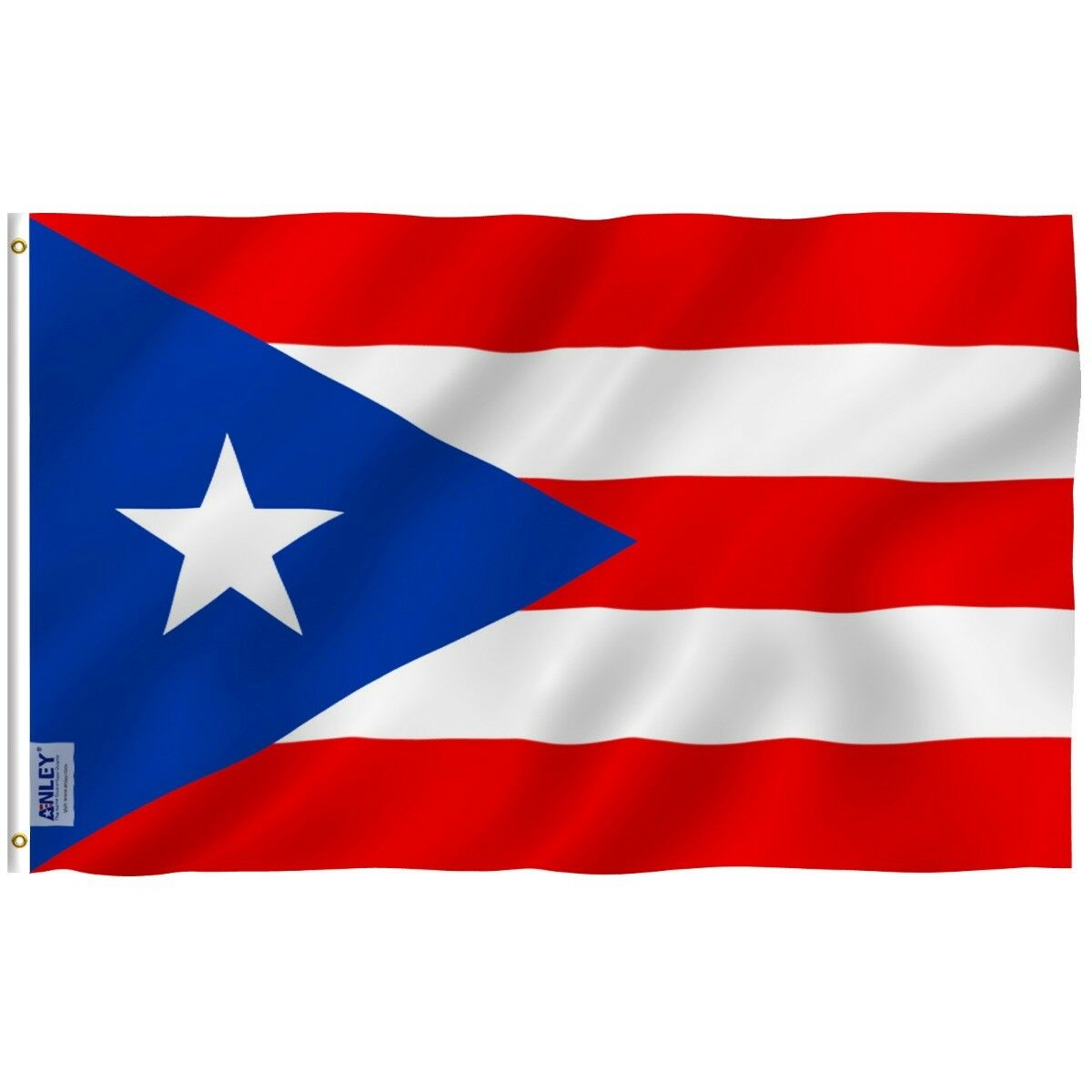 Anley Fly Breeze 3x5 Foot Puerto Rico Flag Puerto Rican Nati