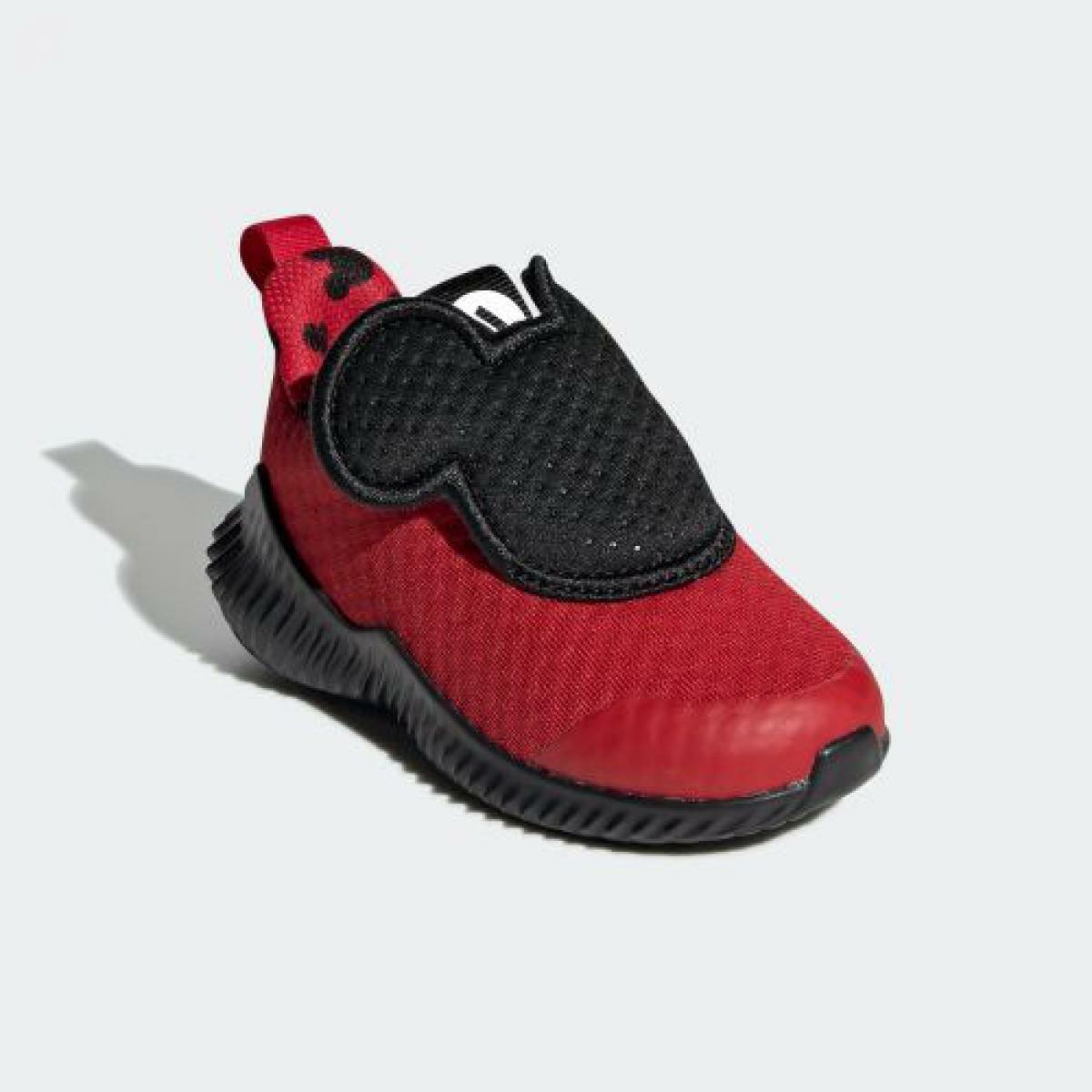 adidas X Disney FortaRun Mickey AC Red Black G27187 Little Kid's Shoes NEW