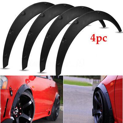 4Pcs 2'' 50mm Universal Widened JDM Fender Flares Body Wheel Arches Car