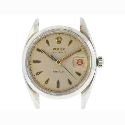 Rolex 6494 Vintage Oysterdate Precision Circa 1946 Watch Head Only