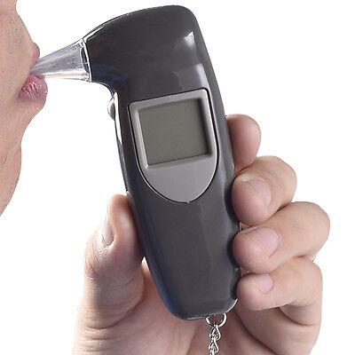 Digital LCD Alcohol Breath Tester Breathalyzer Analyzer Detector Test Keychain