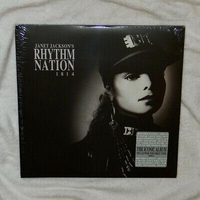 Janet Jackson – Rhythm Nation 1814 *NEW SEALED* Double Vinyl LP Gatefold
