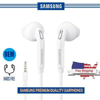 OEM Original Samsung Galaxy S6 S7 S8 S9 Note 6 7 8 Headphone HandsFree Earphone