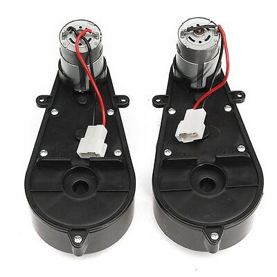 12V Power Wheels Gearbox and Motor for Jeep Ride On Toys 1 Pair For Car