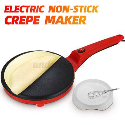 Electric Non Stick Crepe Maker Baking Pancake Pan Frying Gri