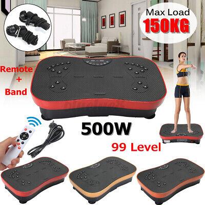 Vibrationsplatte Vibrationsgerät Trainingsgerät Fitness Vibrationstrainer 500W