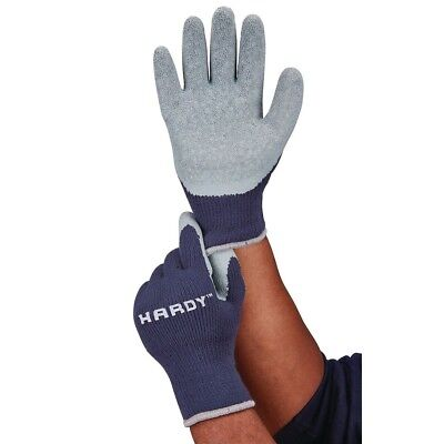 Latex Coated Thermal Knit Cold Weather Work Gloves Of Large L
