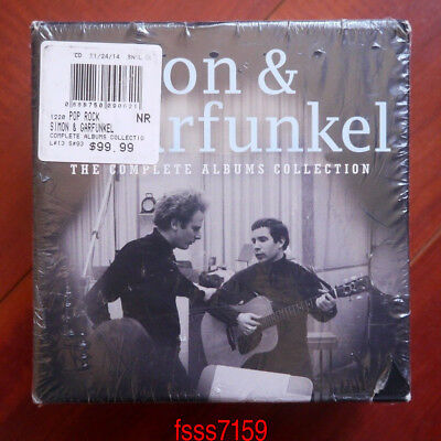 "Simon & Garfunkel ""The Complete Albums Collection"" 12 CD Box Set Collection Hot"
