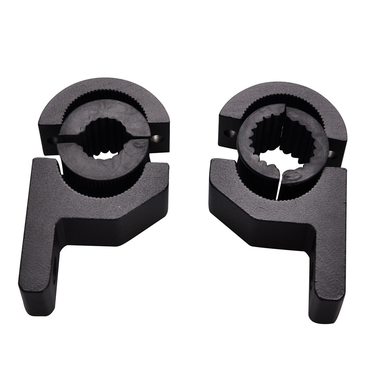 2x 1 Quot 19mm 25mm Bull Bar Roll Cage Mount Bracket Clamp Led