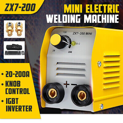 Zx7-200 Minigb 200a Mini Electric Welding Machine Igbt Dc Inverter Arc Mma Stick